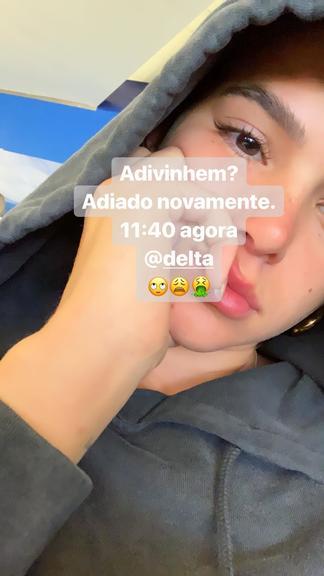 Bruna Marquezine entra em desespero e sofre com companhia aérea