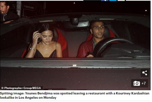 Solteira desde o término do relacionamento com Neymar, Bruna Marquezine foi fotografada ao lado do modelo Younes Bendjima, nos EUA
