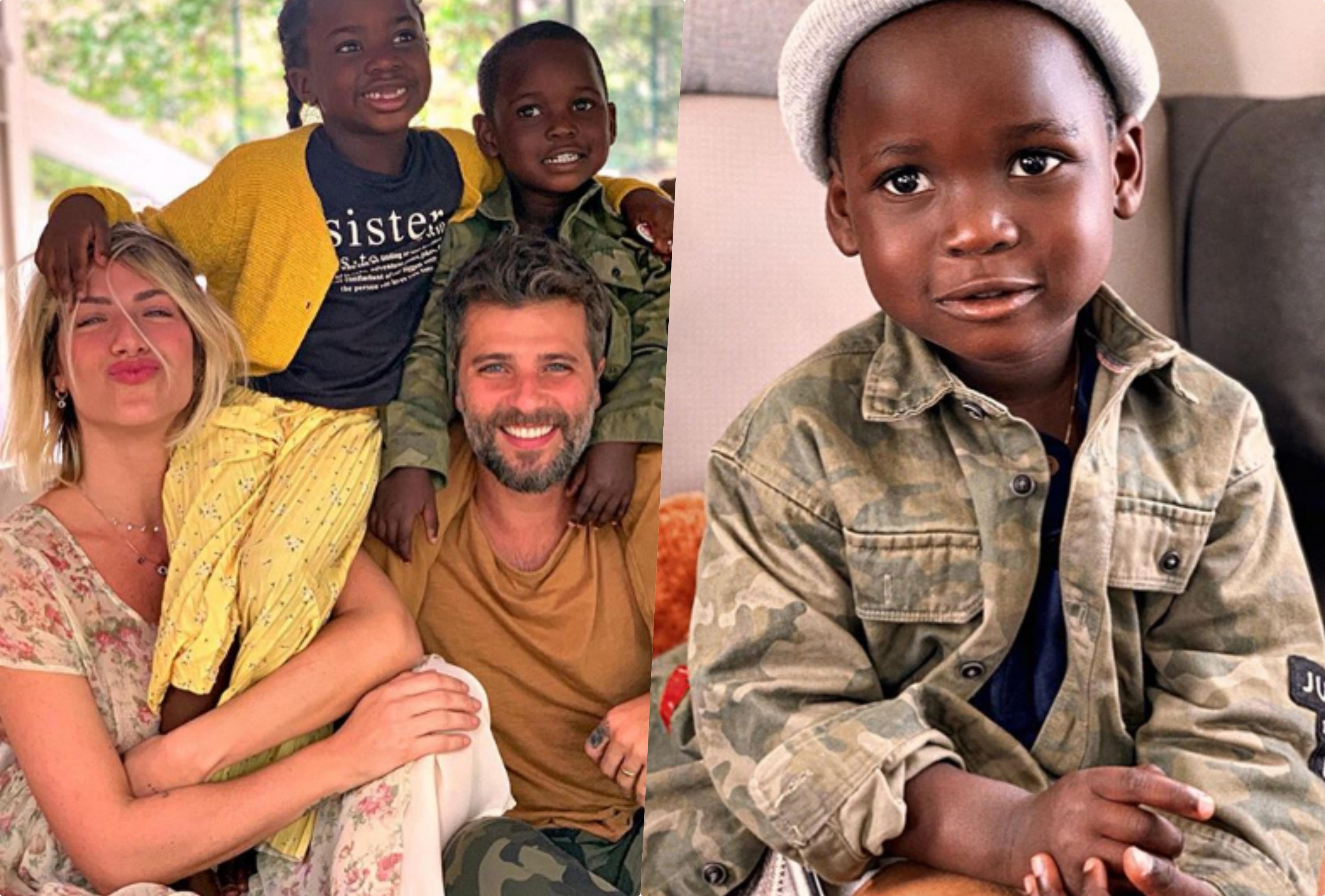 Bruno Gagliasso e Giovanna Ewbank apresentaram o novo filho deles Bless (Foto reprodução Instagram)