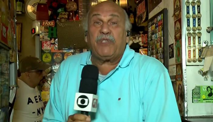 Márcio Canuto virou funcionário de lanchonete após sair da Globo (Foto: Reprodução/Globo)