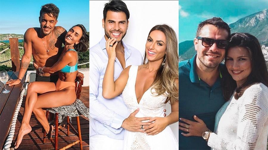 Os casais finalistas do Power Couple da Record, formato se mostrou mais ágil e interessante comparado ao Big Brother Brasil (Imagem: Reprodução)
