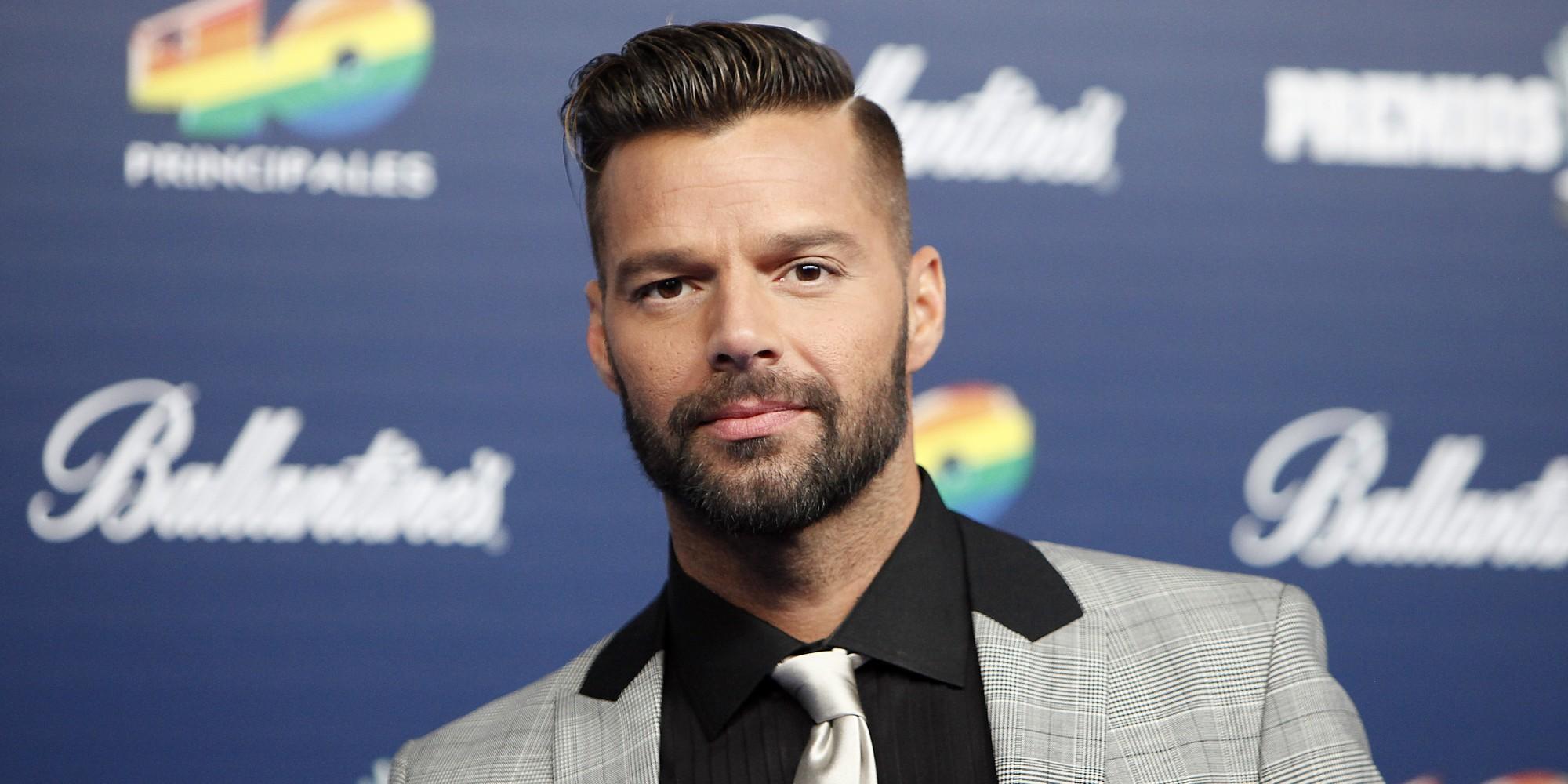 Cantor Ricky Martin (Foto: Reprodução)