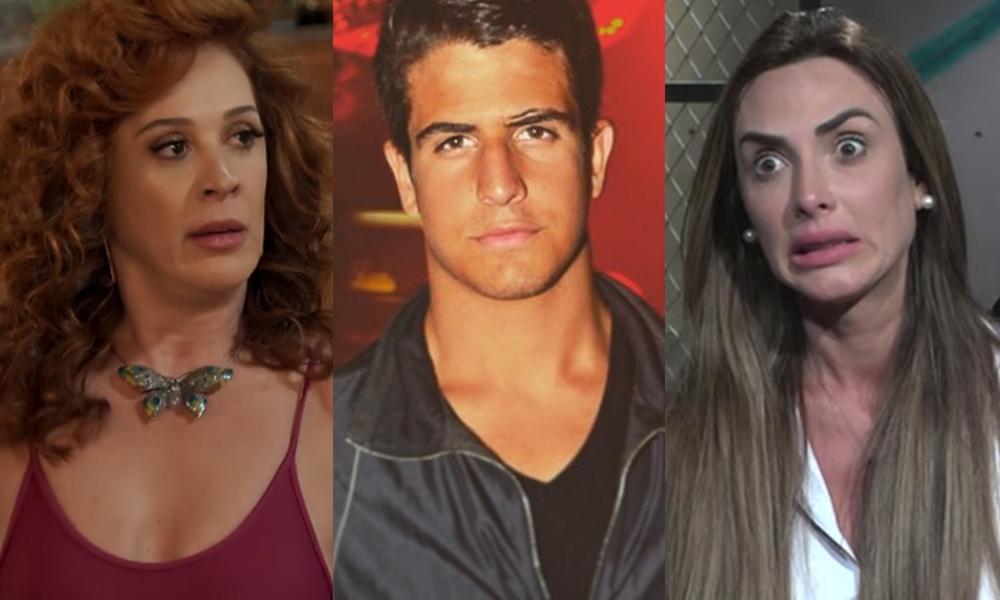 Claudia Raia foi contra o romance de Enzo e Nicole Bahls. (Foto: Reprodução/Montagem/TV Foco)