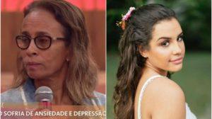 Mãe de Alinne Araújo, Elizabeth relatou detalhes da morte da filha na TV