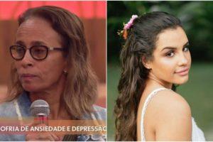 Mãe de Alinne Araújo, Elizabeth relatou detalhes da morte da filha na durante o programa da Globo, Encontro com Fátima Bernardes (Foto: Reprodução)