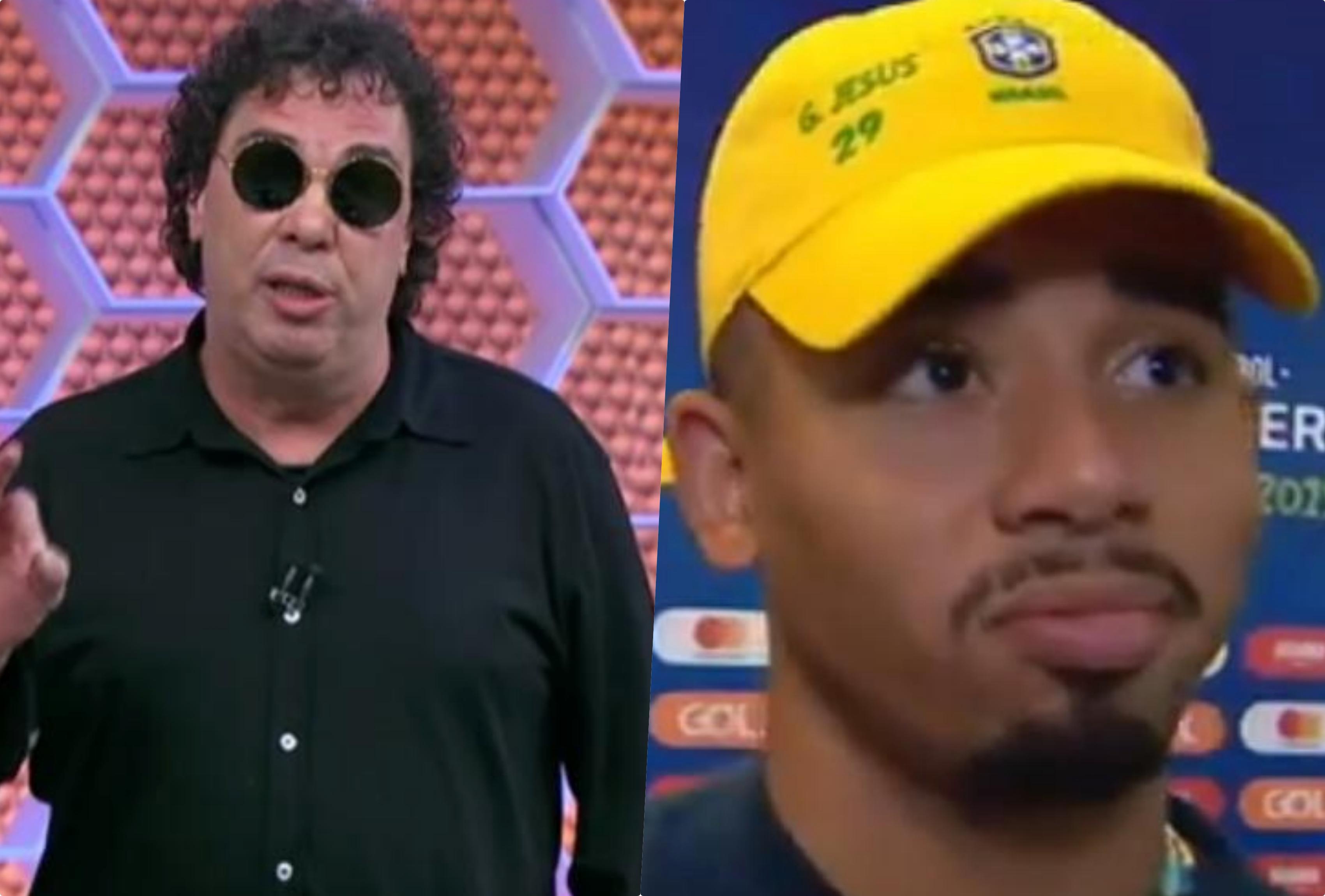 Casagrande teve encontro com Jogador da seleção antes do Jogo do Brasil e Argentina
