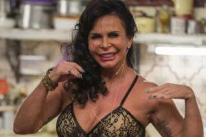 Gretchen surpreendeu o público ao aparecer na novela A Dona do Pedaço (Foto: Divulgação)