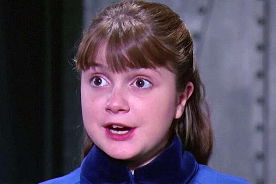 Denise Nickerson, atriz que fez Violet no filme A Fantástica Fábrica de Chocolate (Foto: Reprodução)