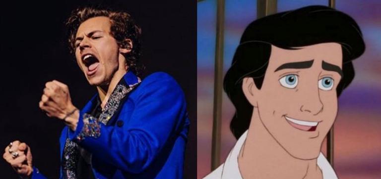 Harry Styles vai viver o Príncipe Eric em A Pequena Sereia (Foto: Reprodução)