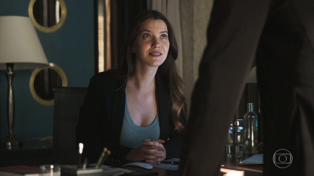 Fabiana é interpretada por Nathalia Dill na trama da Globo A Dona do Pedaço