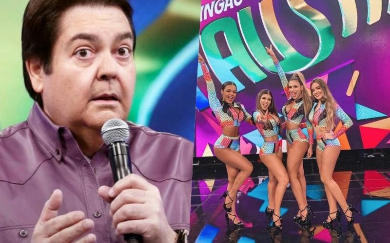 Faustão provocou demissão em massa das bailarinas de seu programa na Globo