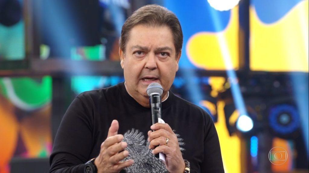 O apresentador Faustão pode ter seu programa na Globo cancelado a qualquer momento (Foto: Reprodução)