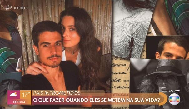 Filhos de Claudia Raia e Edson Celulari no Encontro com Fátima Bernardes