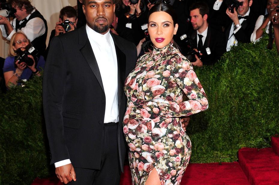 Kim Kardashian e seu marido Kanye West (Foto: Reprodução)