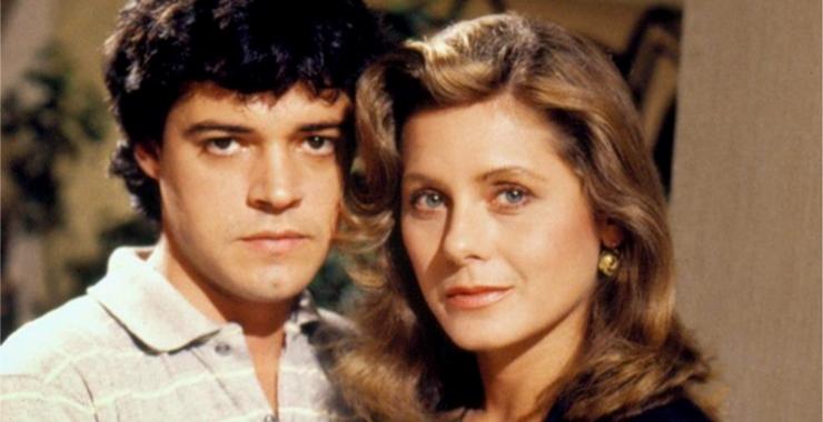 Felipe Camargo e Vera Fischer já atuaram juntos em novelas da Globo. (Foto: Reprodução)