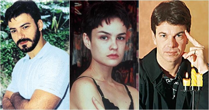 Leonardo Vieira, Carolina Kasting e Augusto Xavier formavam o triângulo amoroso principal de Brida. (Foto: Montagem/Reprodução)