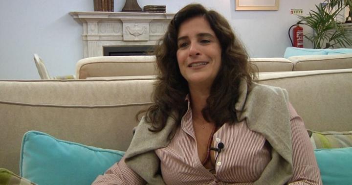 Lúcia Veríssimo não concluiu a novela Roda de Fogo. (Foto: Reprodução)
