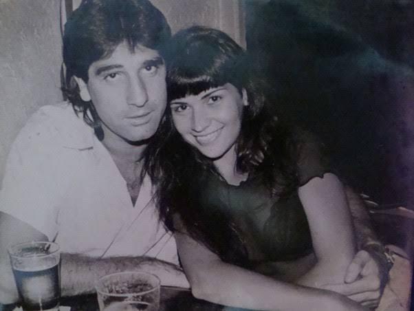 Renato Gaúcho e Solange Gomes (Foto: Reprodução).