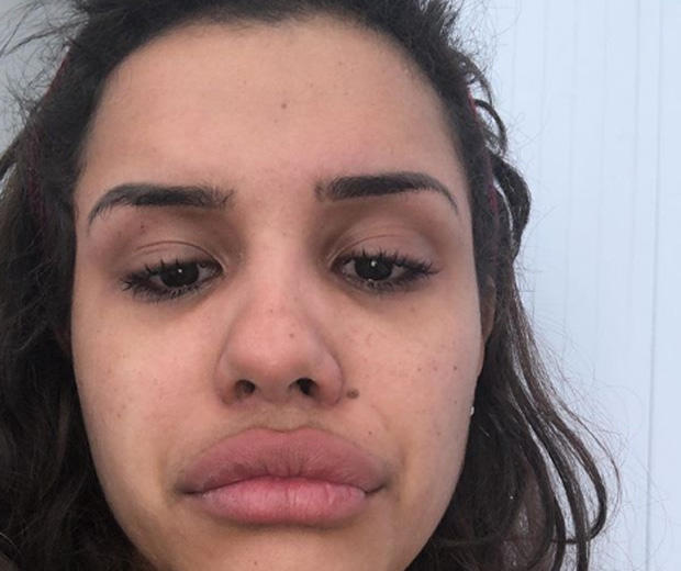 Alinne Araújo comete suicídio (Foto: Reprodução)