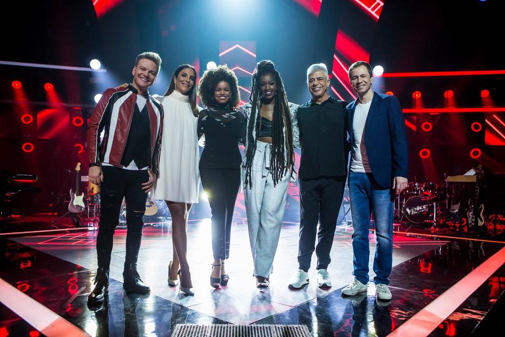 O time de jurados do The Voice Brasil ganhou uma novidade: Iza (Foto: Isabella Pinheiro / Gshow)