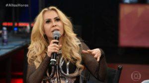 Joelma foi impedida de fazer show no Rio de Janeiro pela polícia (Foto: Reprodução/ Globo)