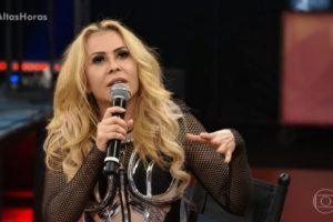 Joelma cancelou show no interior de Pernambuco e desapontou os fãs (Foto: Reprodução/ Globo)