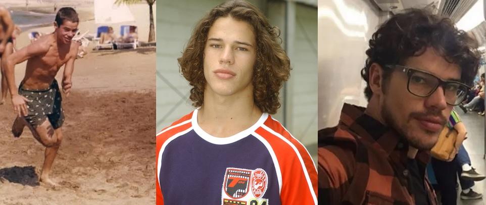 José Loreto antes e depois Foto: Arquivo pessoal/Divulgação Globo/Instagram Enlaces Patrocinados