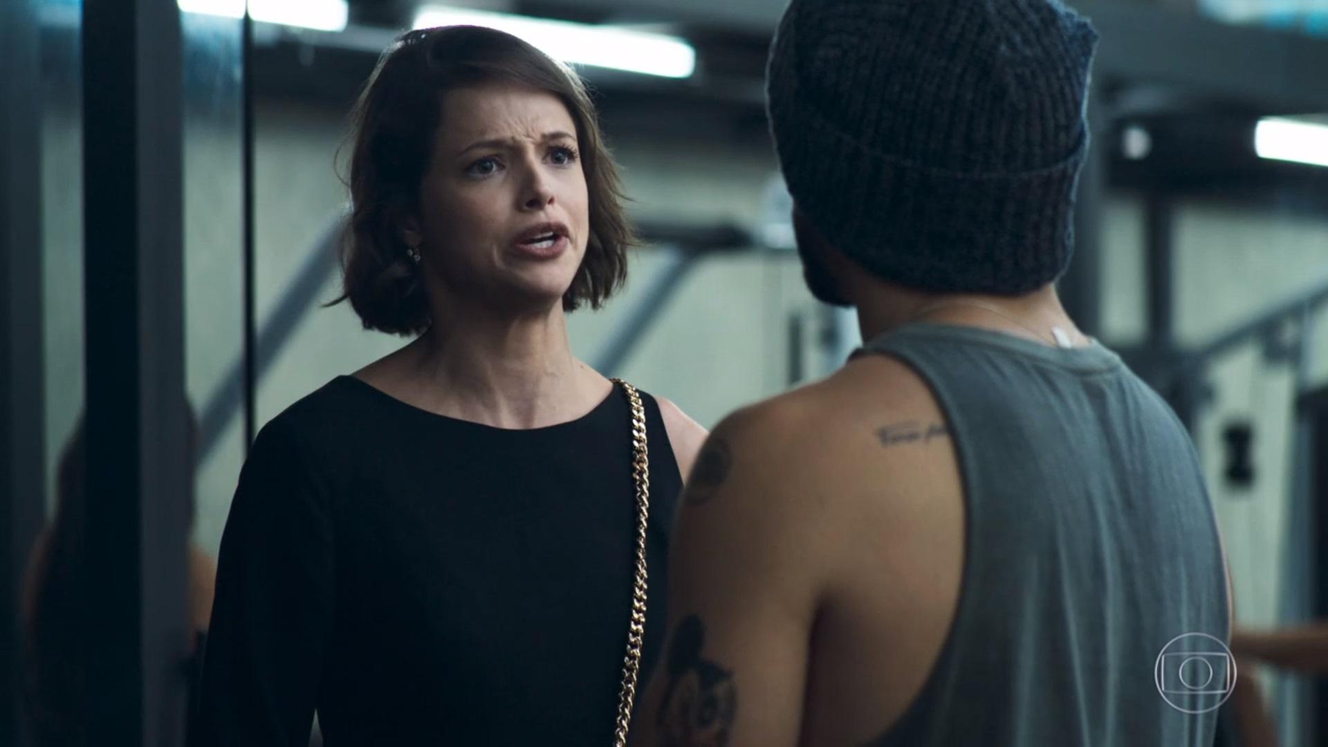 Josiane e Rock em cena da novela A Dona do Pedaço (Foto: Reprodução)