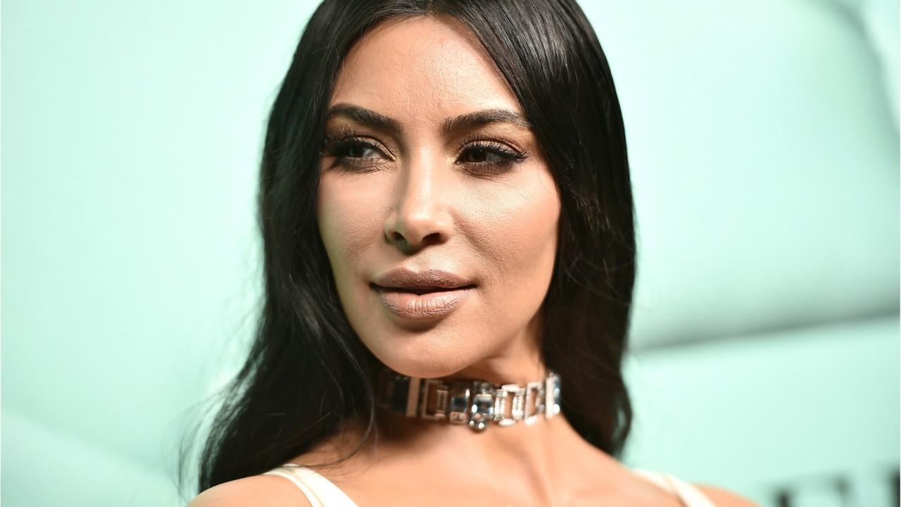 Kim Kardashian se considerou uma baleia depois de sua gravidez (Foto: Reprodução)