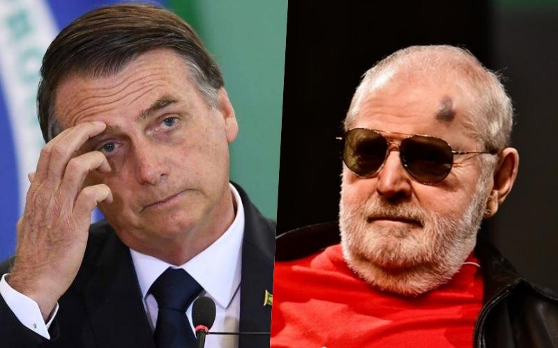 """Jô Soares manda carta em francês para Bolsonaro e debocha do seu filho: """"Embaixador de lanchonete"""" Foto: Reprodução"""