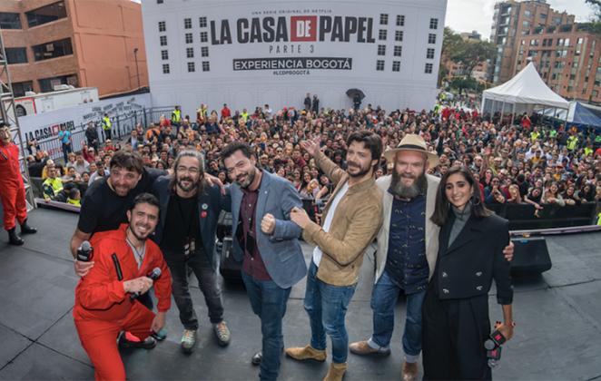 La Casa de Papel ganha festa de abertura (Foto: Reprodução)
