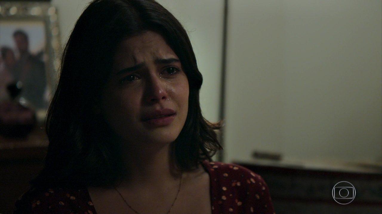 Laila sofre feito uma condenada na Globo em Órfãos da Terra