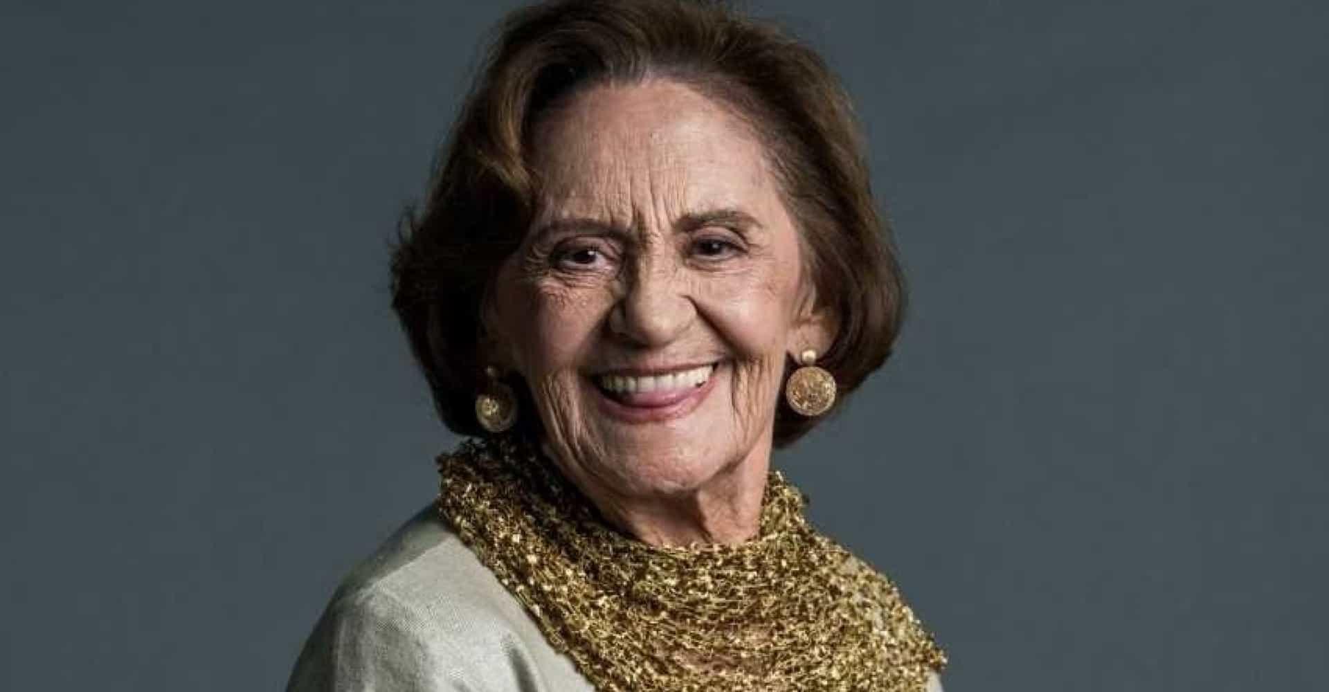 Laura Cardoso é uma atriz veterana da Globo e estará no elenco de A Dona do Pedaço