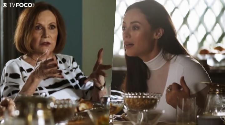 Linda (Rosamaria Murtinho) perderá as estribeiras com sua neta Vivi (Paolla Oliveira) em A Dona do Pedaço da Globo