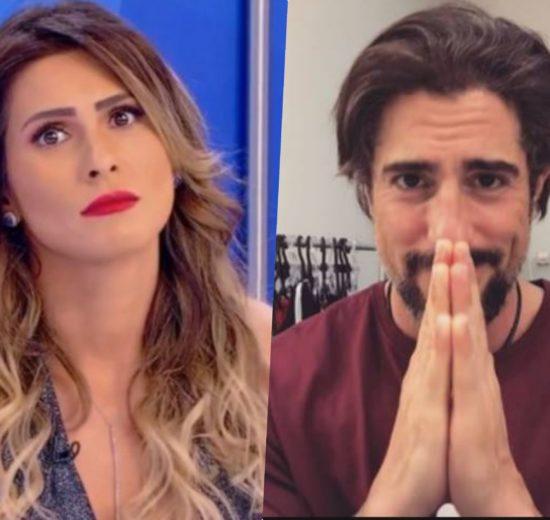Marcos Mion se desentendeu com Lívia Andrade do programa Fofocalizando do SBT
