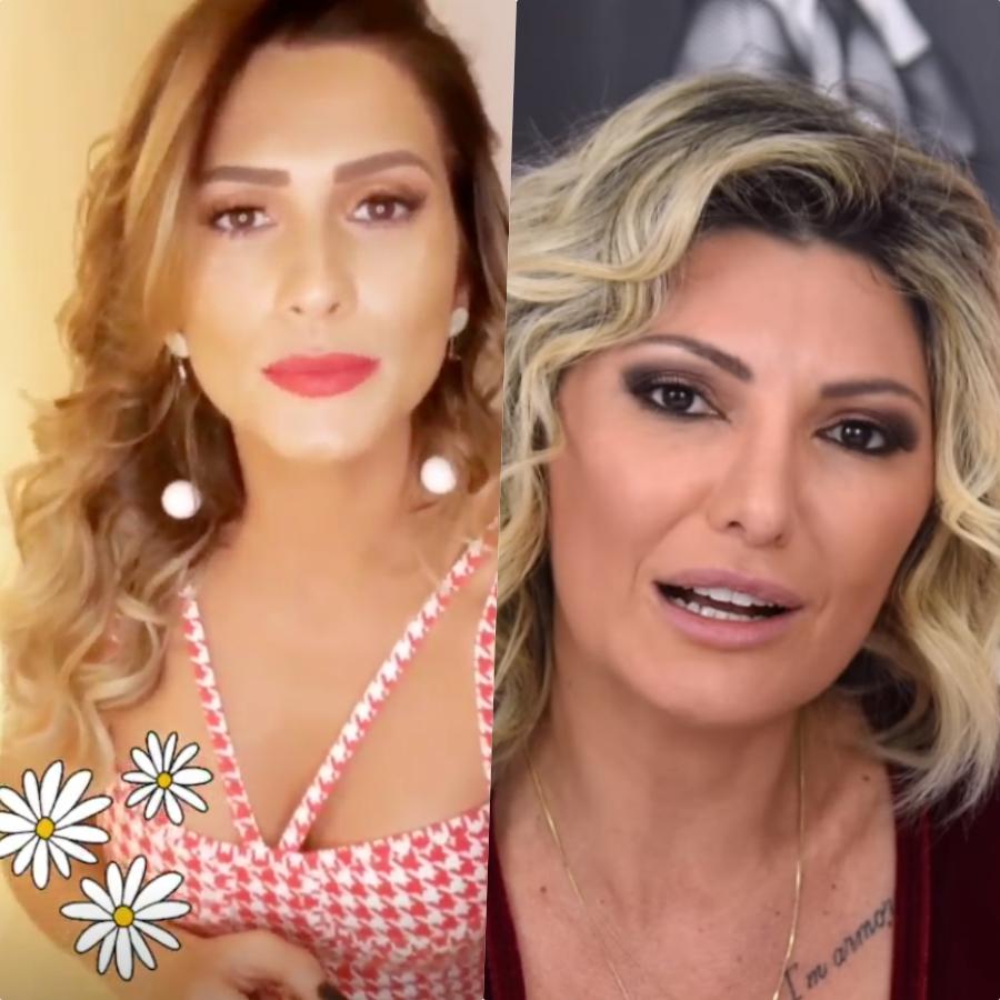 Lívia Andrade e Antônia Fontenelle entram em nova guerra por causa do Fofocalizando do SBT (Foto reprodução)