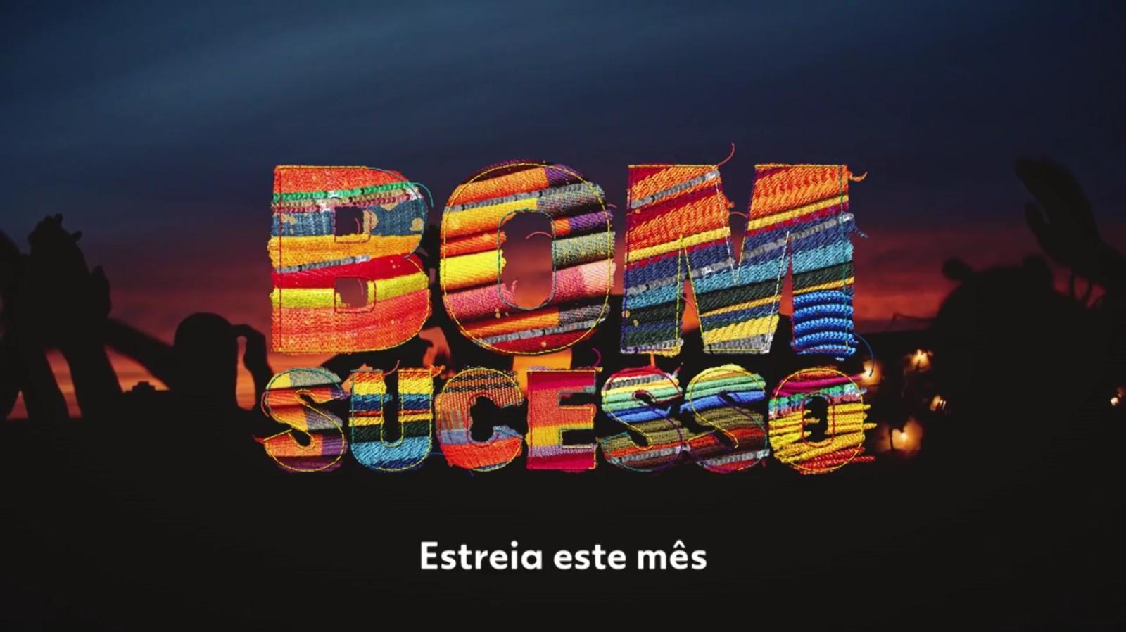 Logotipo da novela das sete Bom Sucesso da Globo