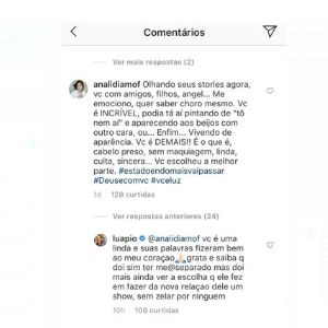 Luana Piovani responde a comentário de seguidor e detona o ex-marido, Pedro Scooby (Foto: Reprodução/Instagram).