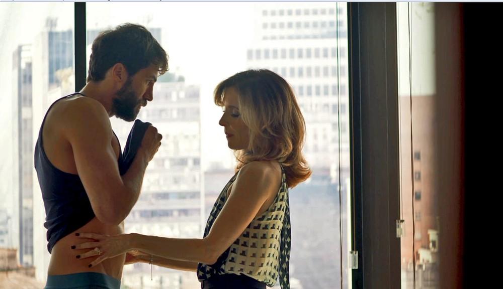 Lyris e Rael em cena da novela A Dona do Pedaço (Foto: Reprodução)