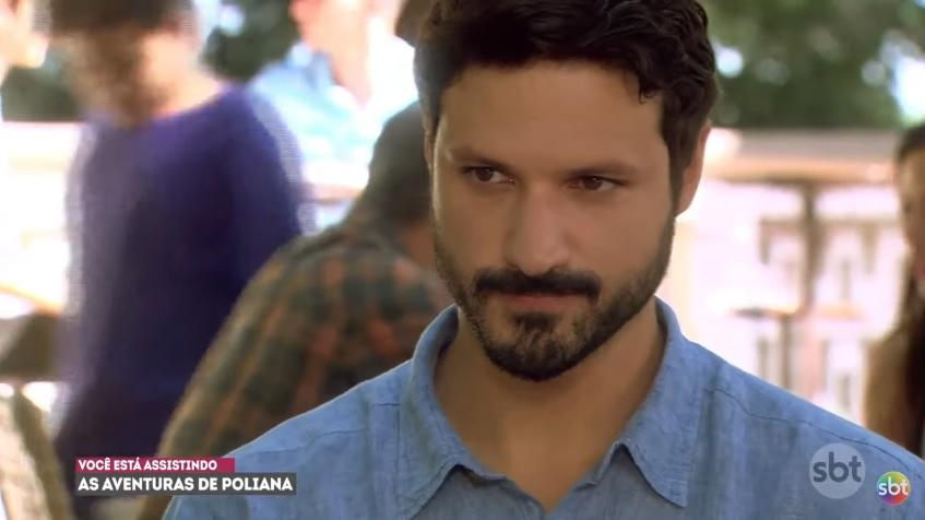 Marcelo em cena de As Aventuras de Poliana do SBT (Foto: Reprodução)