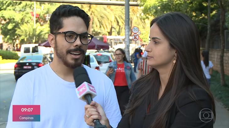 Mari Palma apareceu na Globo após decidir trocar a emissora pela CNN Brasil (Foto: Divulgação / Mais Você)