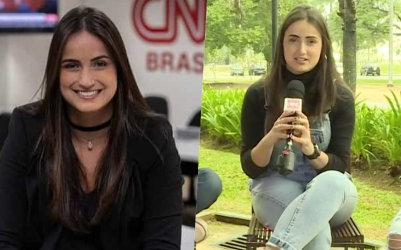 Mari Palma saiu da Rede Globo e assinou contrato com a CNN Foto: Reprodução