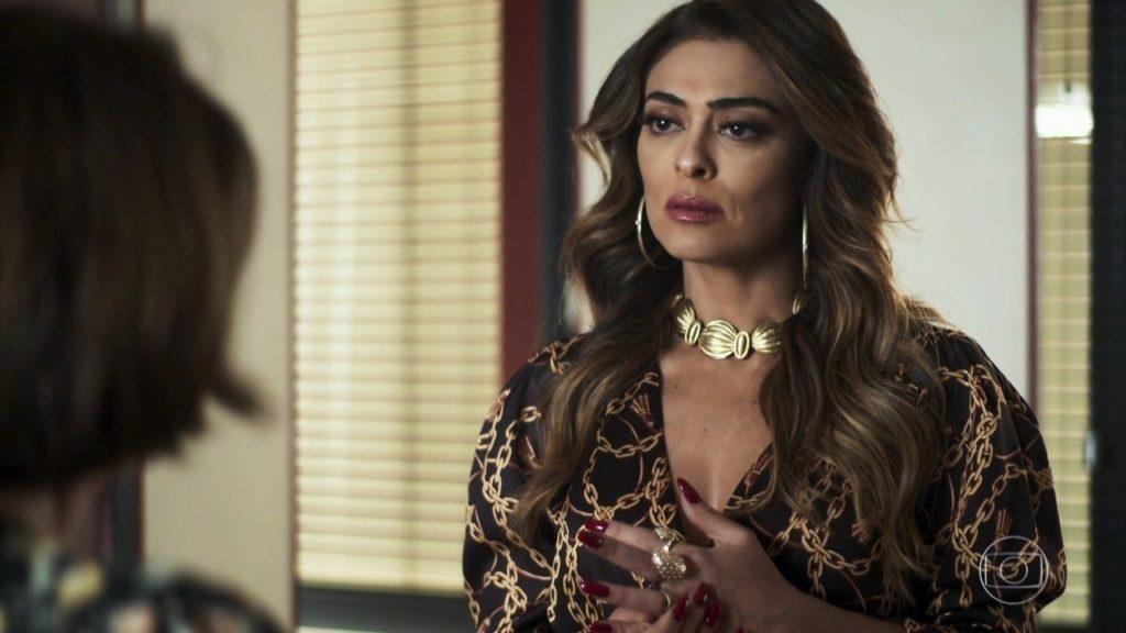 Maria da Paz é a protagonista de A Dona do Pedaço que tem duas sobrinhas perdidas na trama da Globo