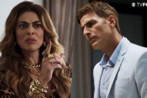 Maria da Paz enfrenta Régis e arma escândalo com mentira revelada em A Dona do Pedaço da Globo