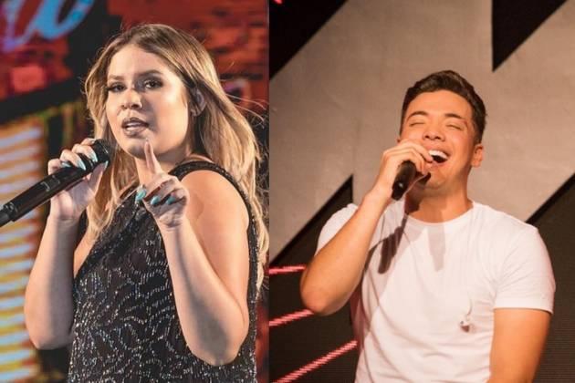 Marília Mendonça e Wesley Safadão também farão live (Foto: Reprodução)