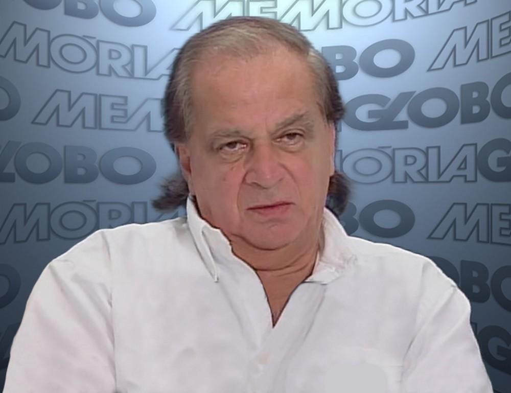 O ator Mário Lúcio Vaz faleceu neste domingo (Foto: Reprodução/Globo)