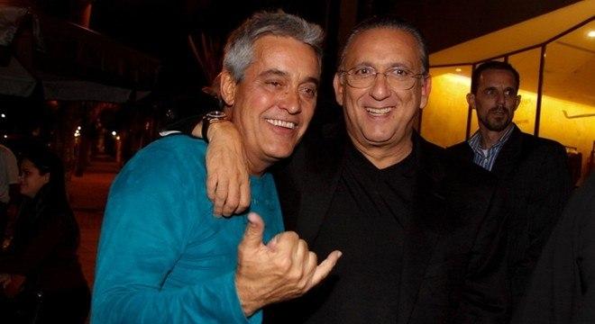 Mauro Naves e Galvão Bueno são muito próximos (Foto: Reprodução)