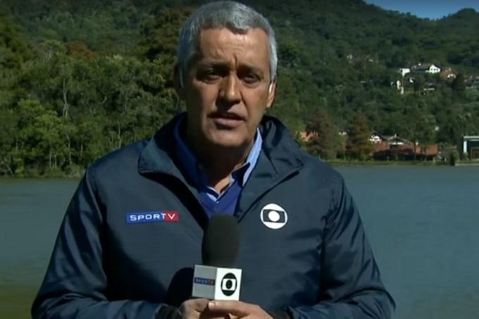 O repórter Mauro Naves é o mais novo cobiçado das concorrentes da Globo (Foto: Reprodução)