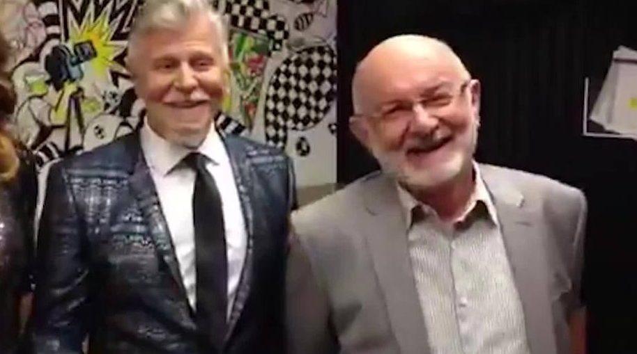 O clima esquentou entre Miguel Falabella e Silvio de Abreu nos bastidores da Globo (Reprodução)