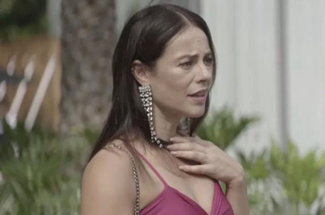 Vivi Guedes em cena da novela das 21h, A Dona do Pedaço (Foto: Reprodução)
